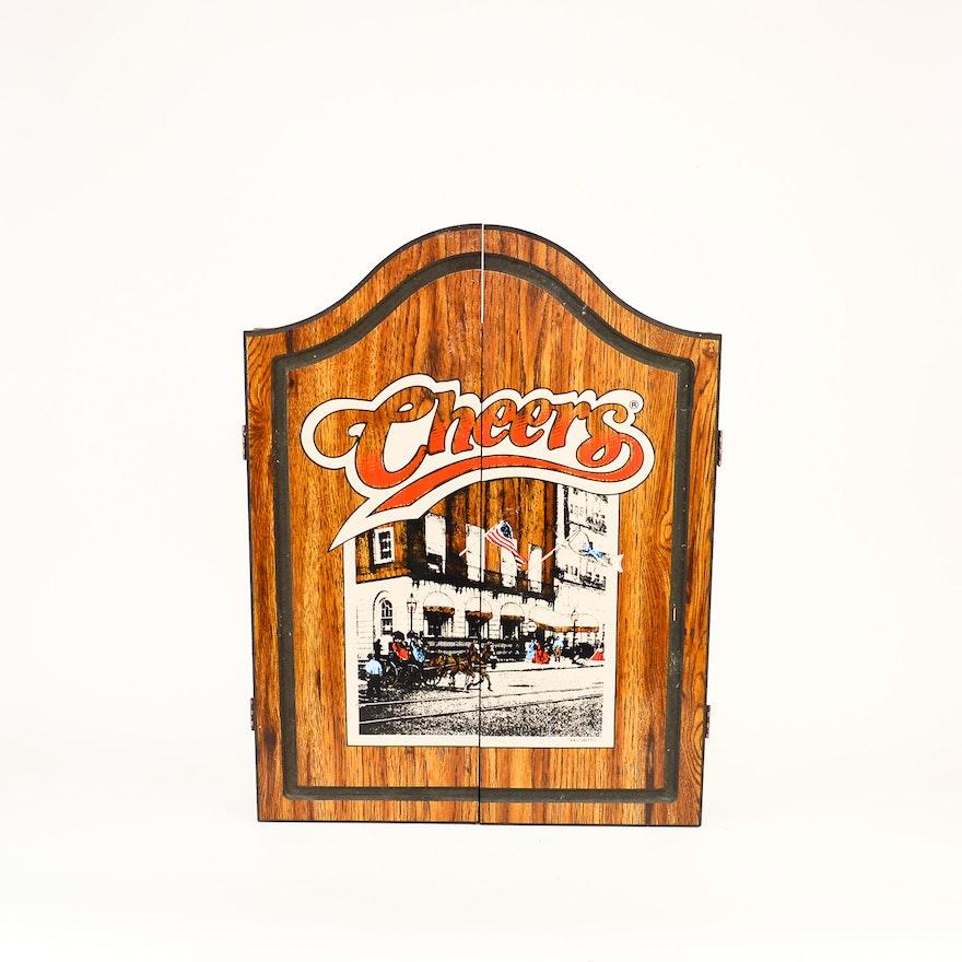 Official 1989 Cheers Rec Room Dart Board Ebth