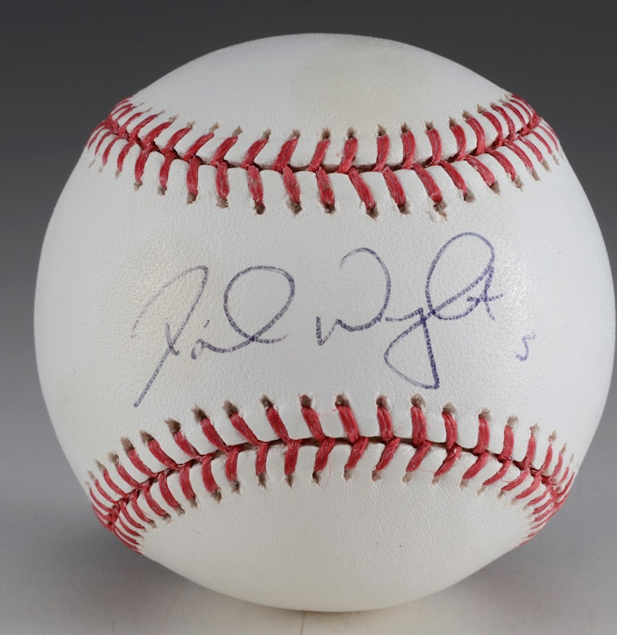 David Wright Signature Of David Wright Signed Baseball Ebth