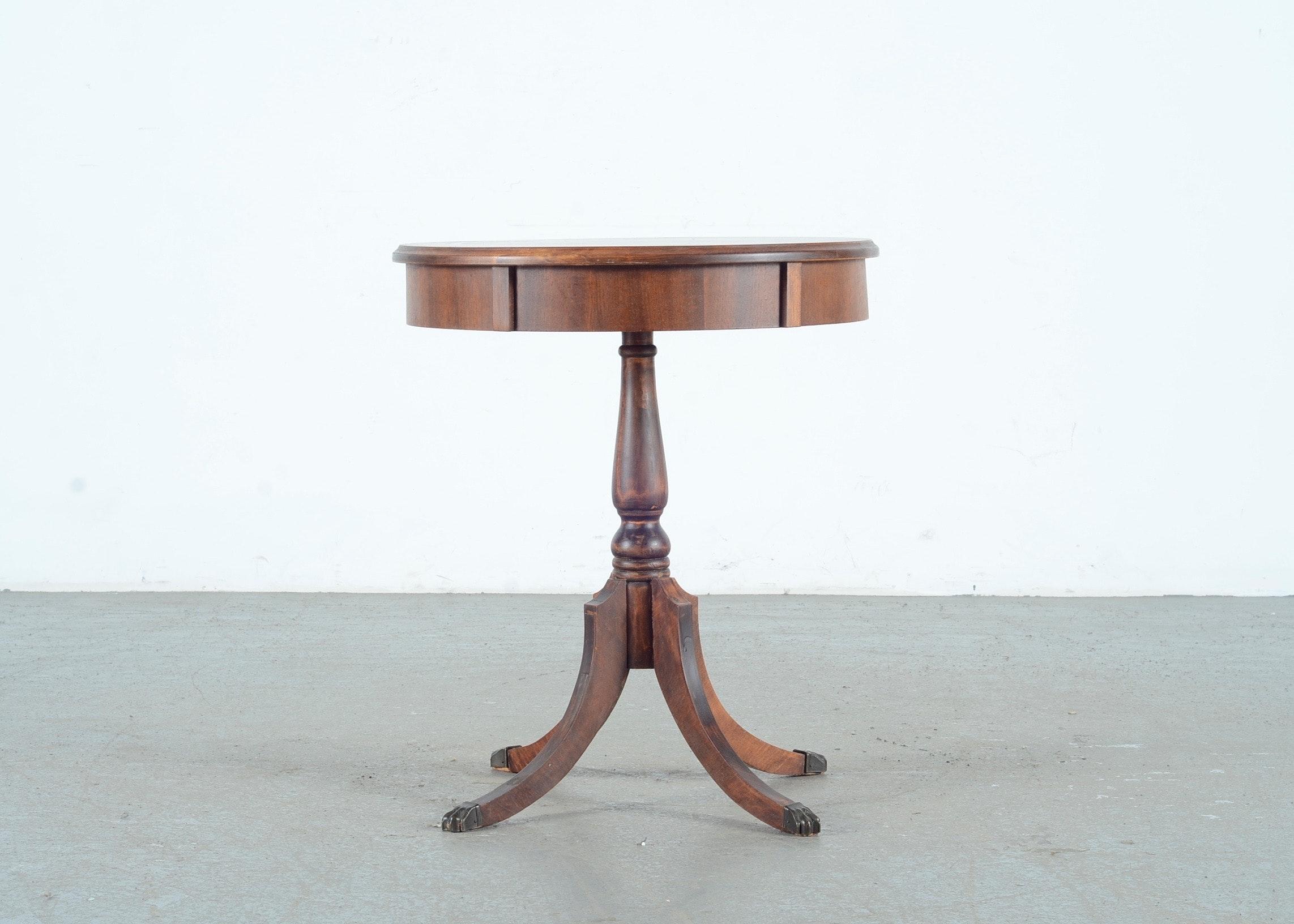 Vintage Mahogany Table 114