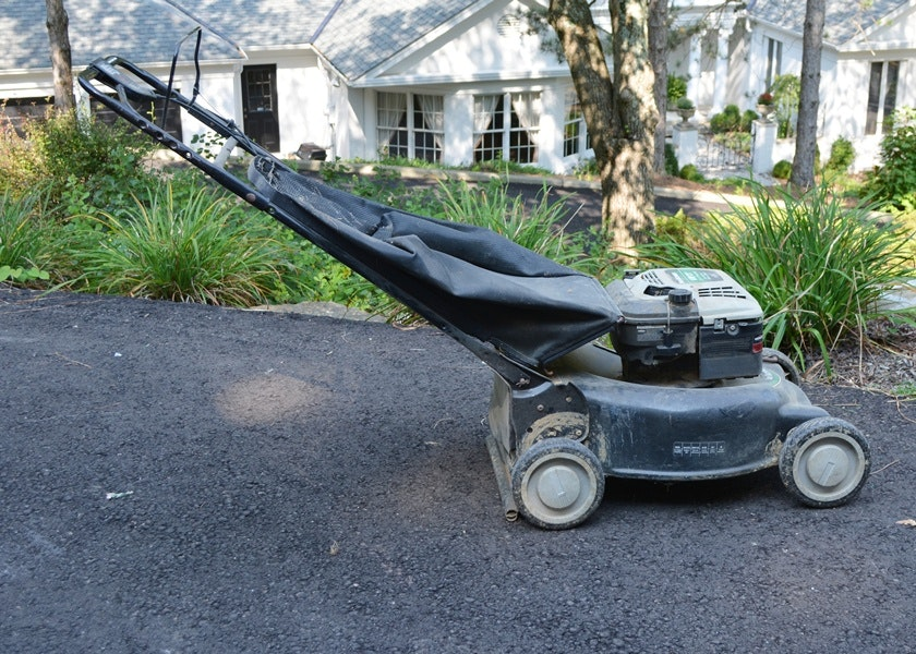 mtd yard machine lawn mower