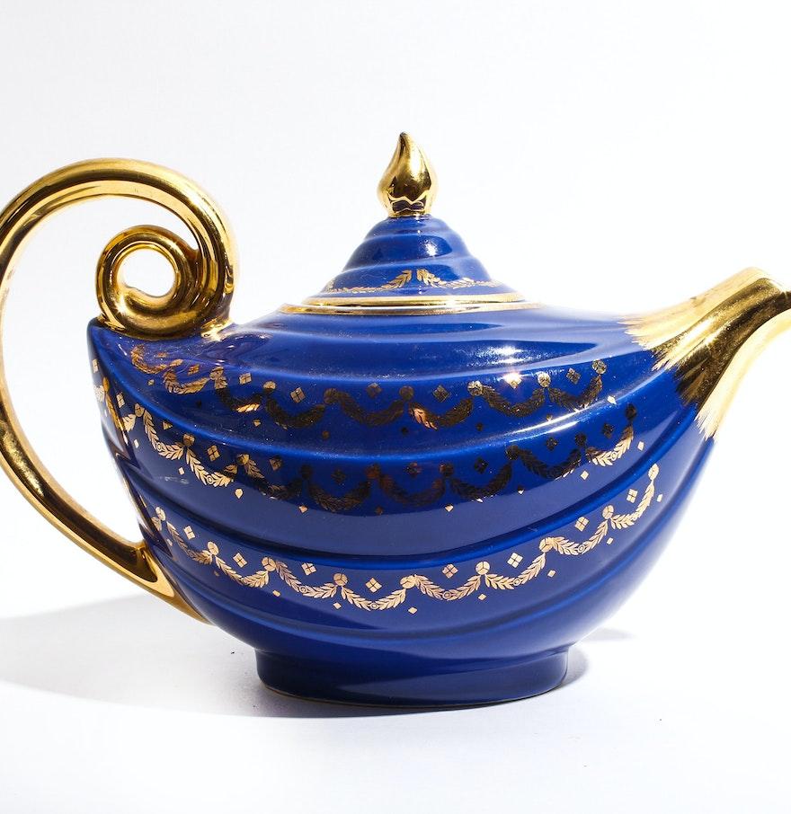 Hall aladdin teapot ebth - Aladdin teapot ...