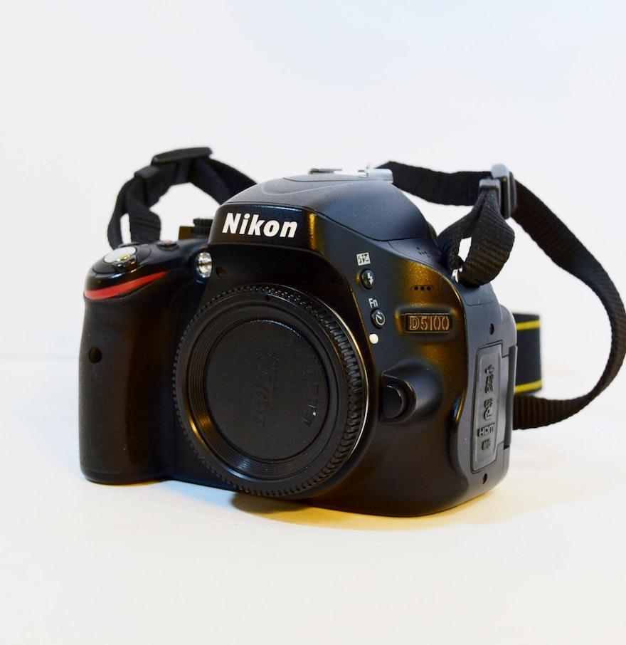 nikon digital camera d5100 manual