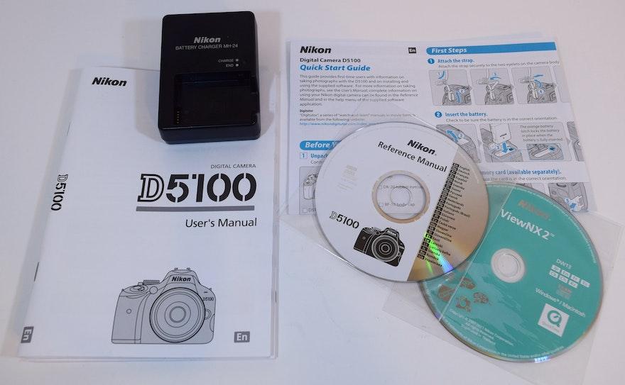 nikon d5100 instruction manual