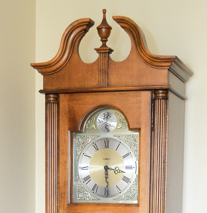 Howard miller tempus fugit grandfather clock ebth howard miller tempus fugit grandfather clock amipublicfo Image collections