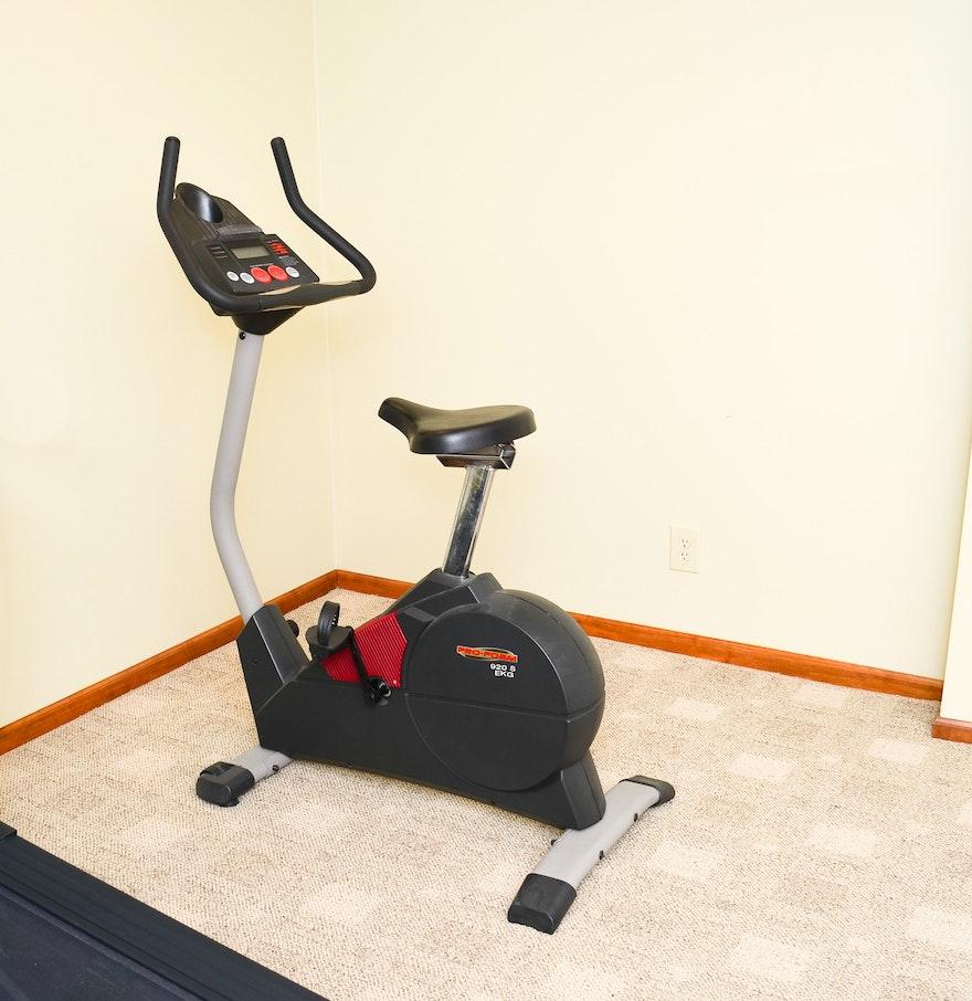 proform 920s ekg exercise bike ebth. Black Bedroom Furniture Sets. Home Design Ideas