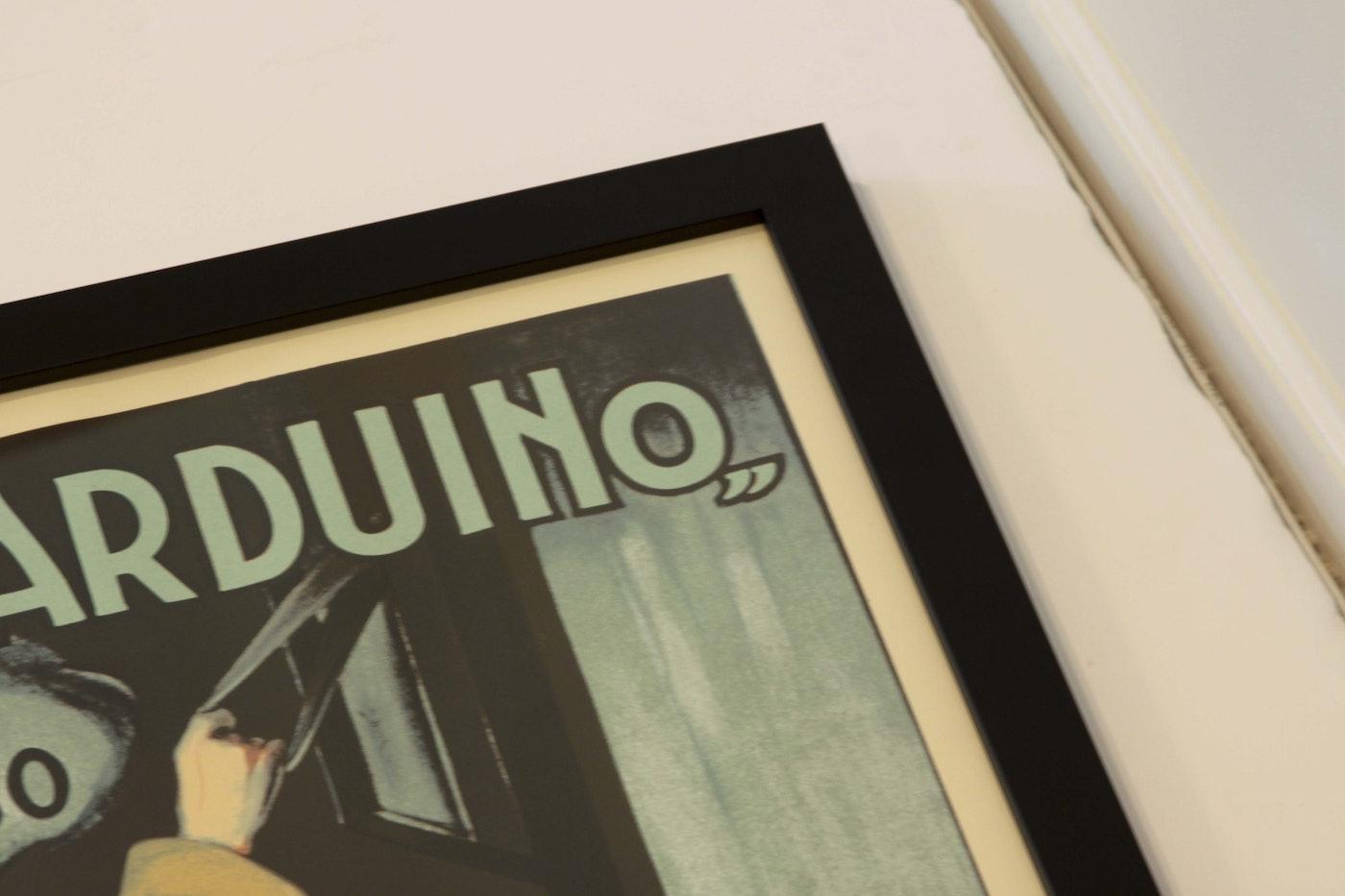 Leonetto cappiello quot la victoria arduino poster print ebth