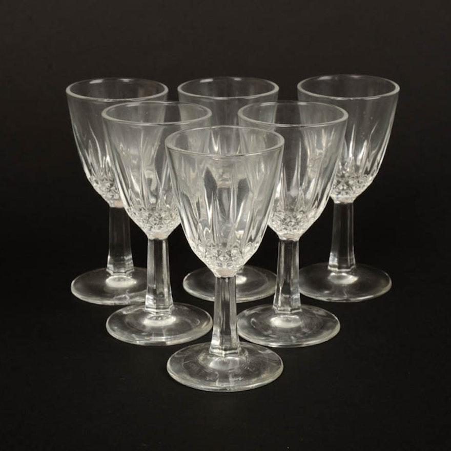 c5943637c8c Collection of Six Petite Wine Glasses   EBTH
