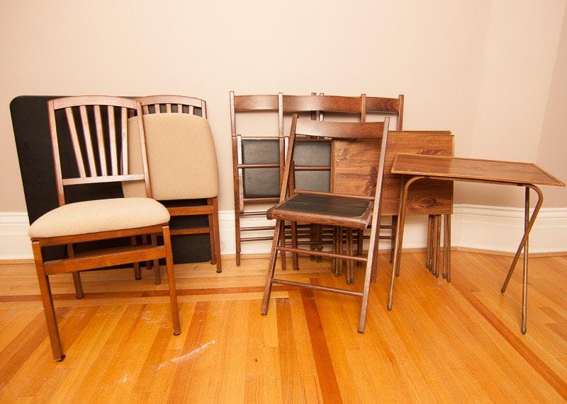 Folding Table and Chair Set EBTH