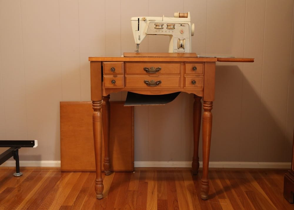 build a sewing machine table