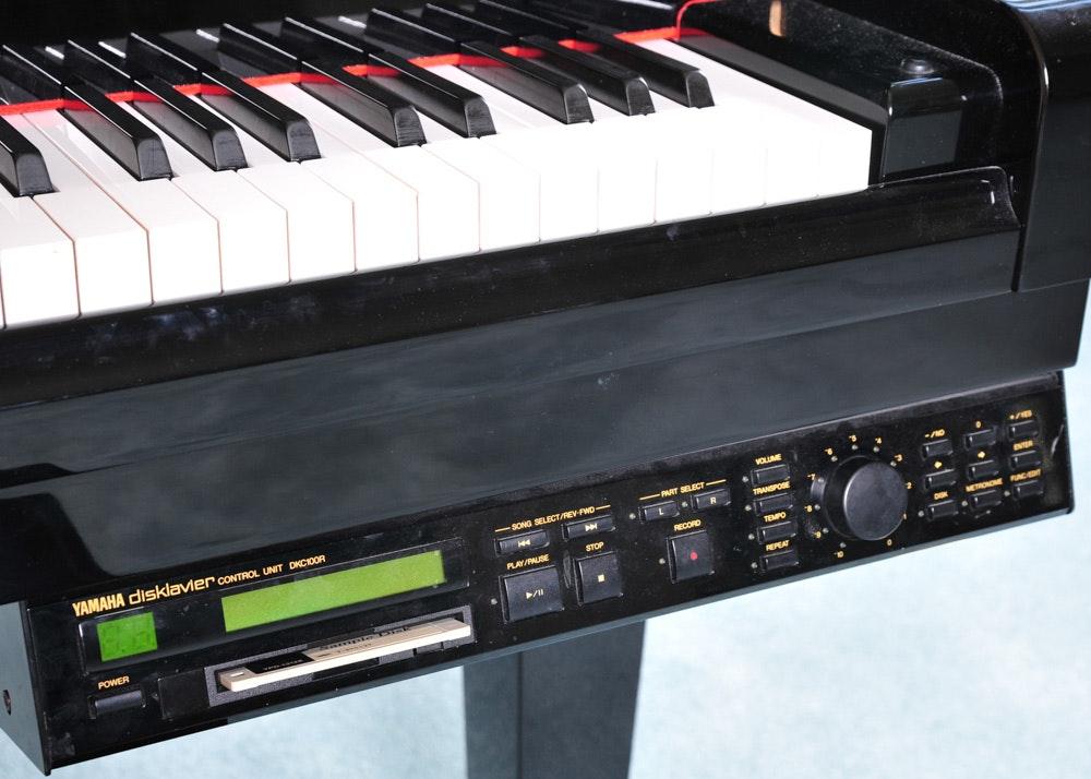 Yamaha Gh1 B Disklavier Baby Grand Piano Ebth