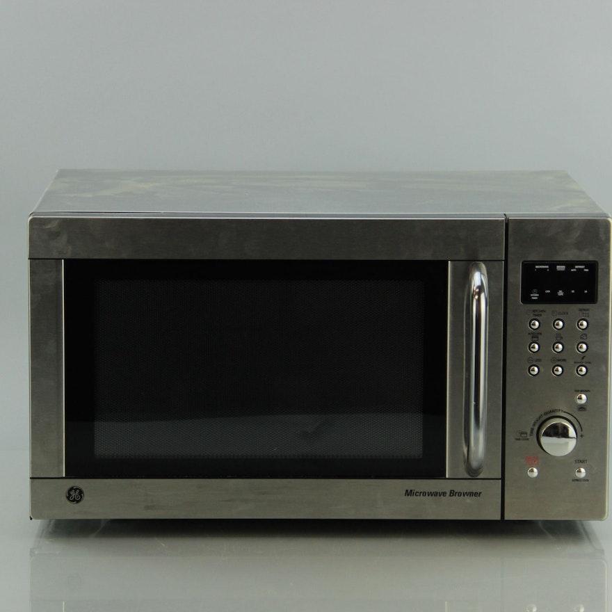 General Electric Microwave Browner