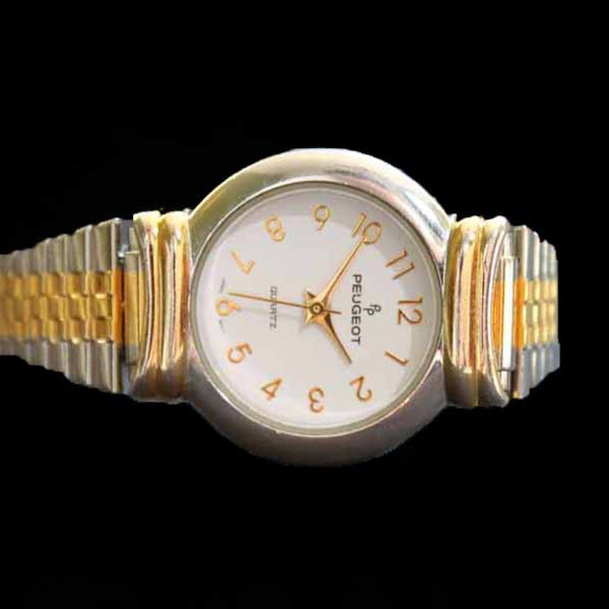 women's peugeot quartz watch : ebth
