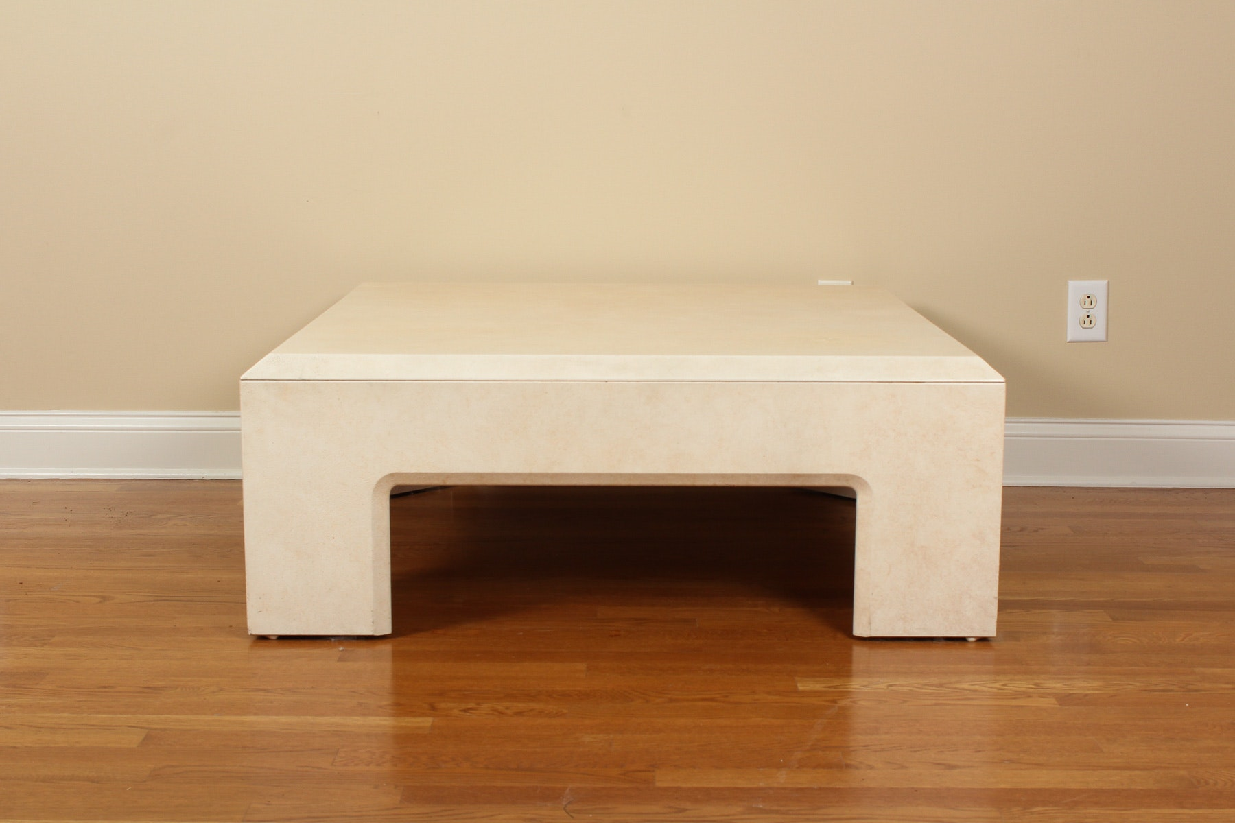 Large Square Coffee Table By Lane Furniture