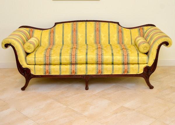 Duncan Phyfe Style Empire Sofa Ebth