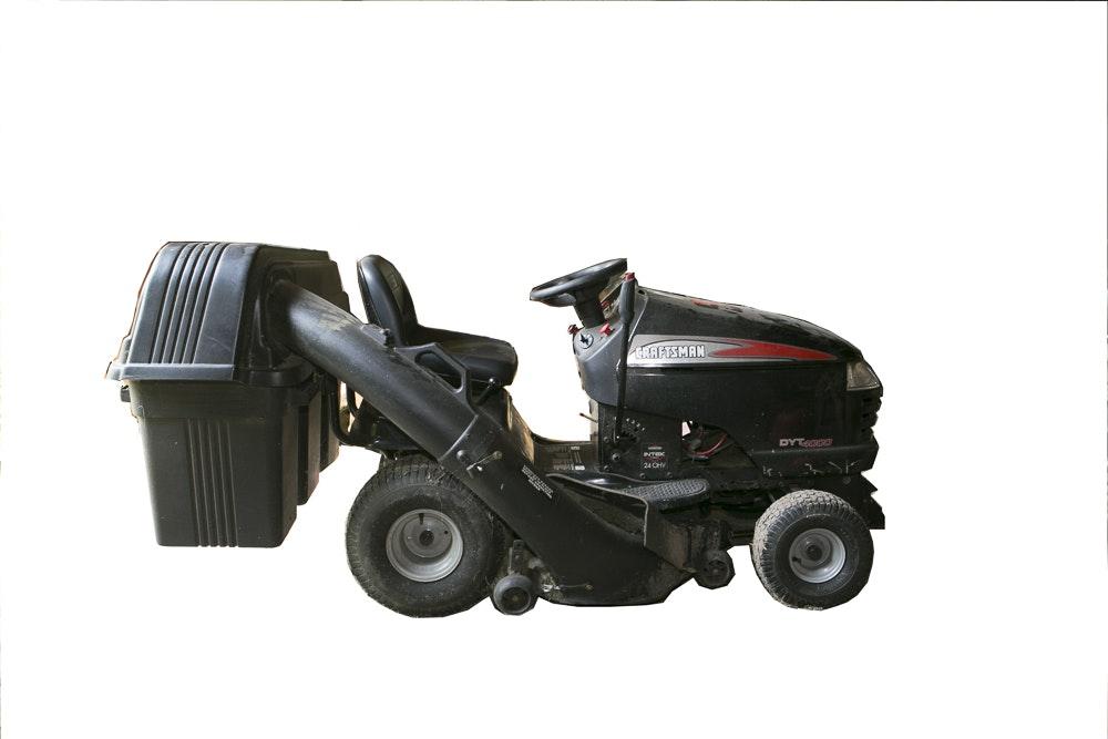 Craftsman Dyt 4000 Grass Catcher : Craftsman dyt lawn tractor ebth