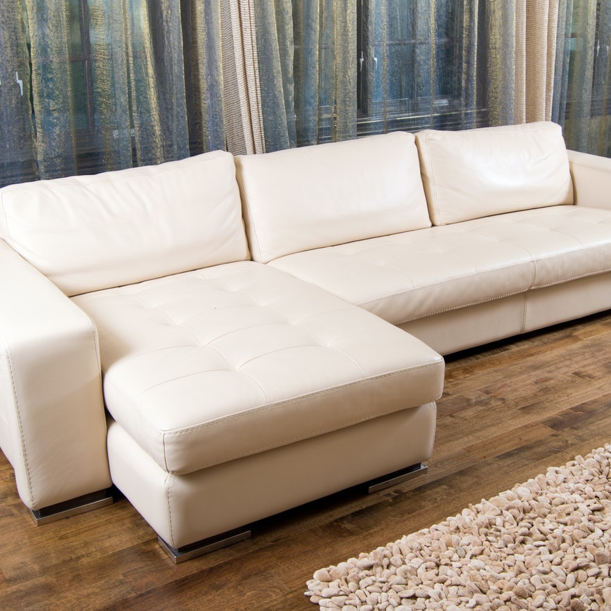 gamma arredamenti international pacifica cream leather