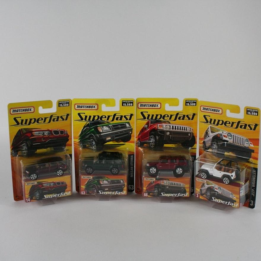 Matchbox Superfast Series Ebth