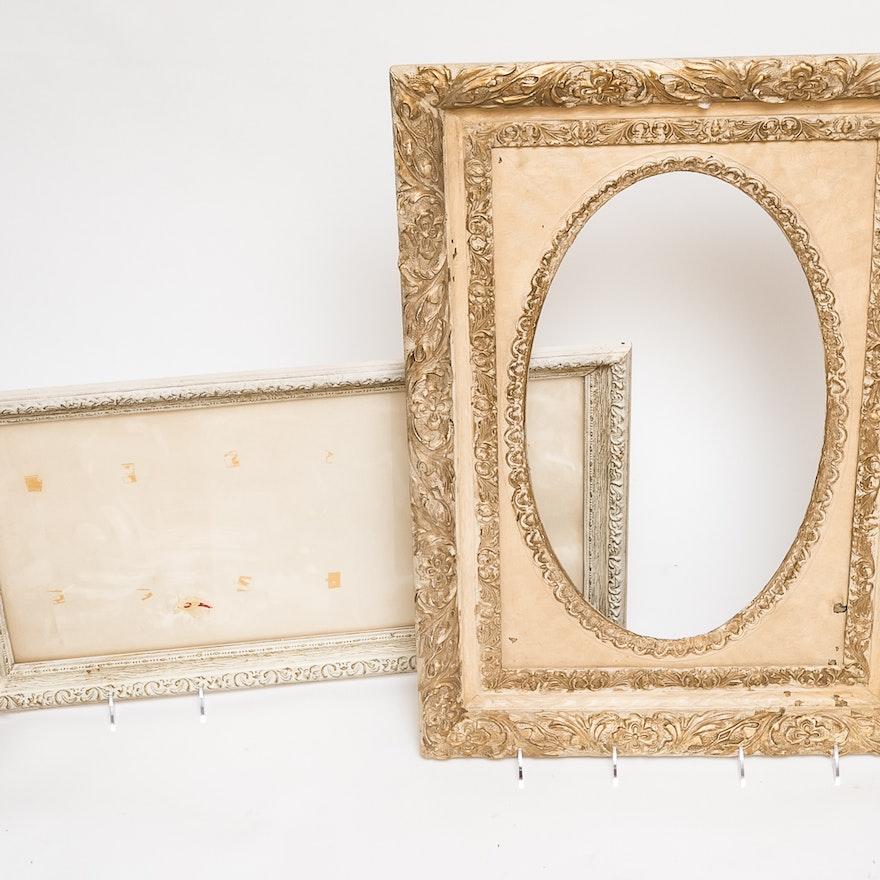 Modern White Wood Frames Elaboration - Framed Art Ideas ...