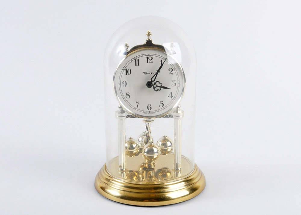 westclox anniversary clock 1x1 - Anniversary Clock