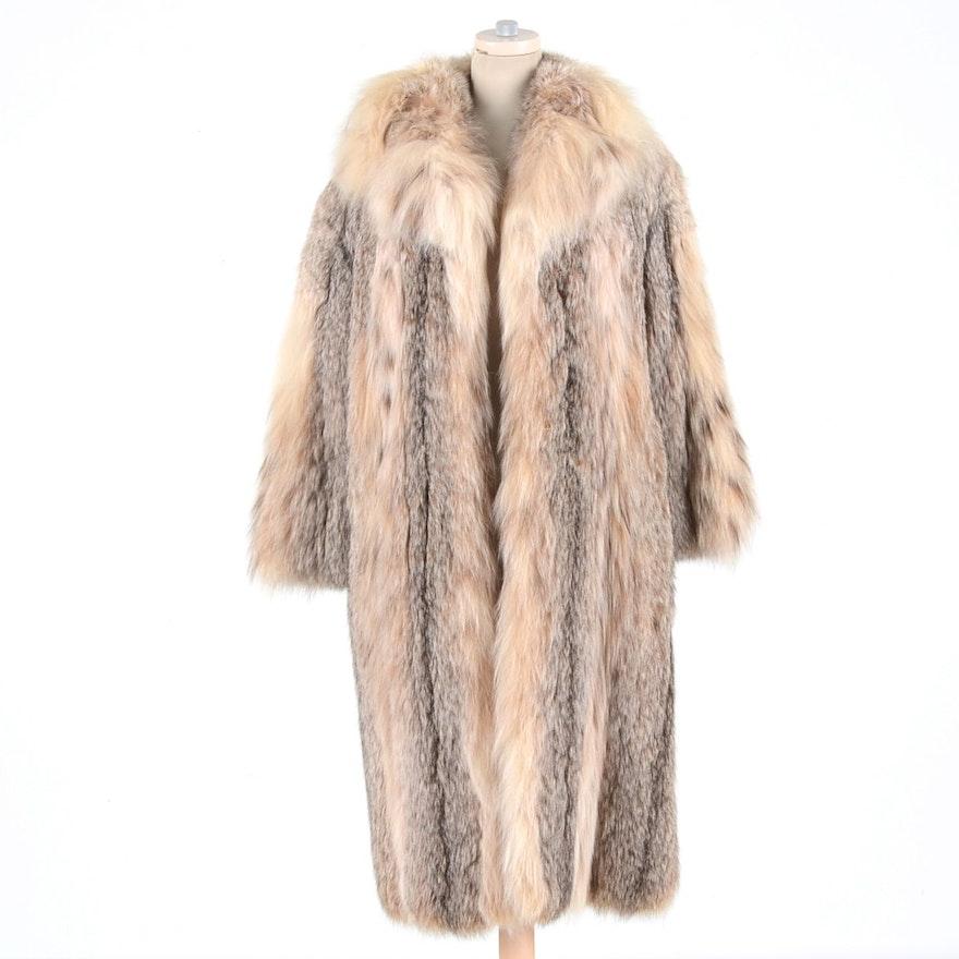 44d2e7bde0b Women's Late 1960s Crystal Fox Fur Coat : EBTH