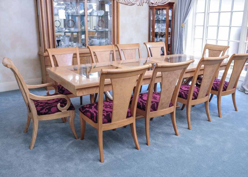 insigniadrexel heritage dining table and chairs : ebth