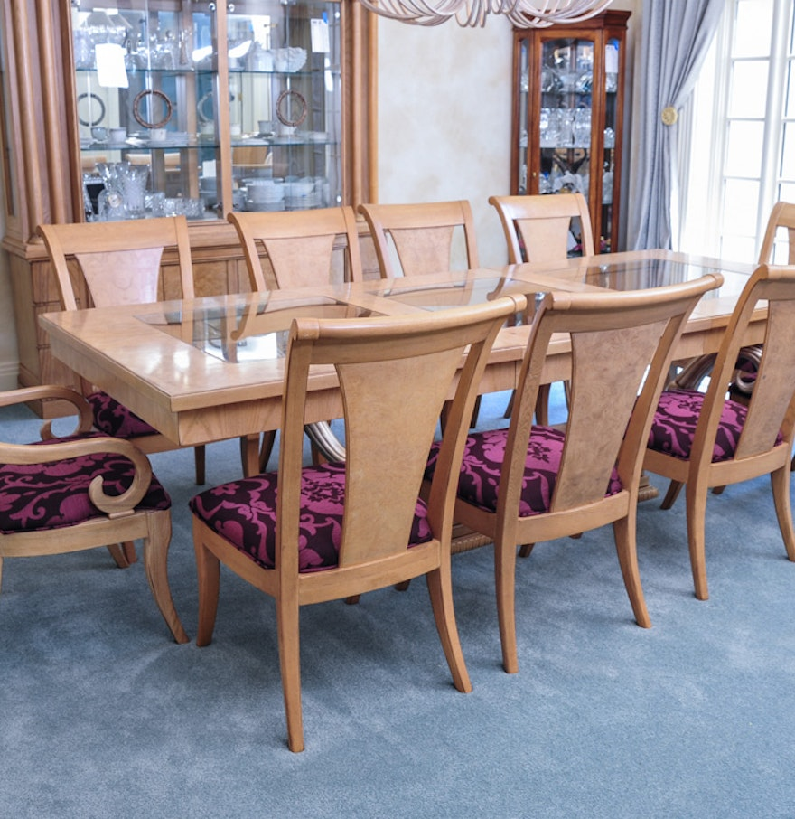 Insignia by Drexel Heritage Dining Table and Chairs : EBTH