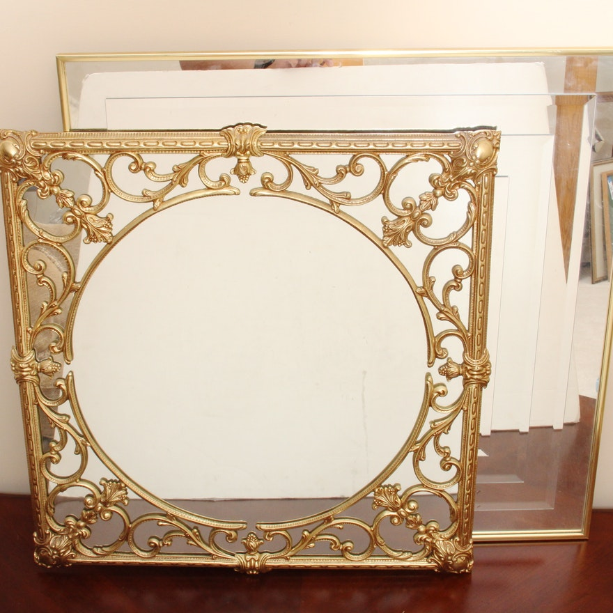 61055477cd4 Pair of Wall Mirrors   EBTH