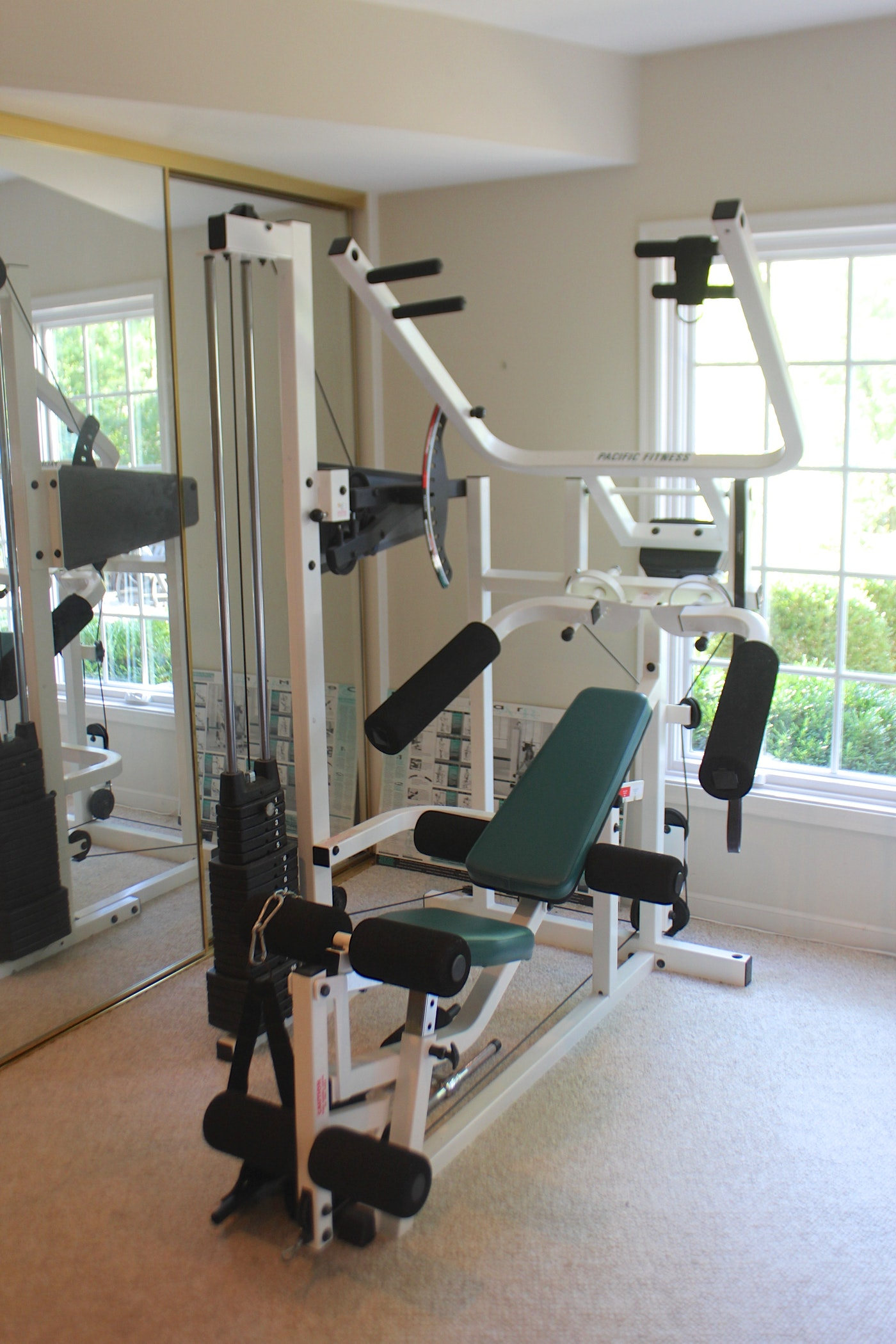 Pacific Fitness Del Mar Home Gym
