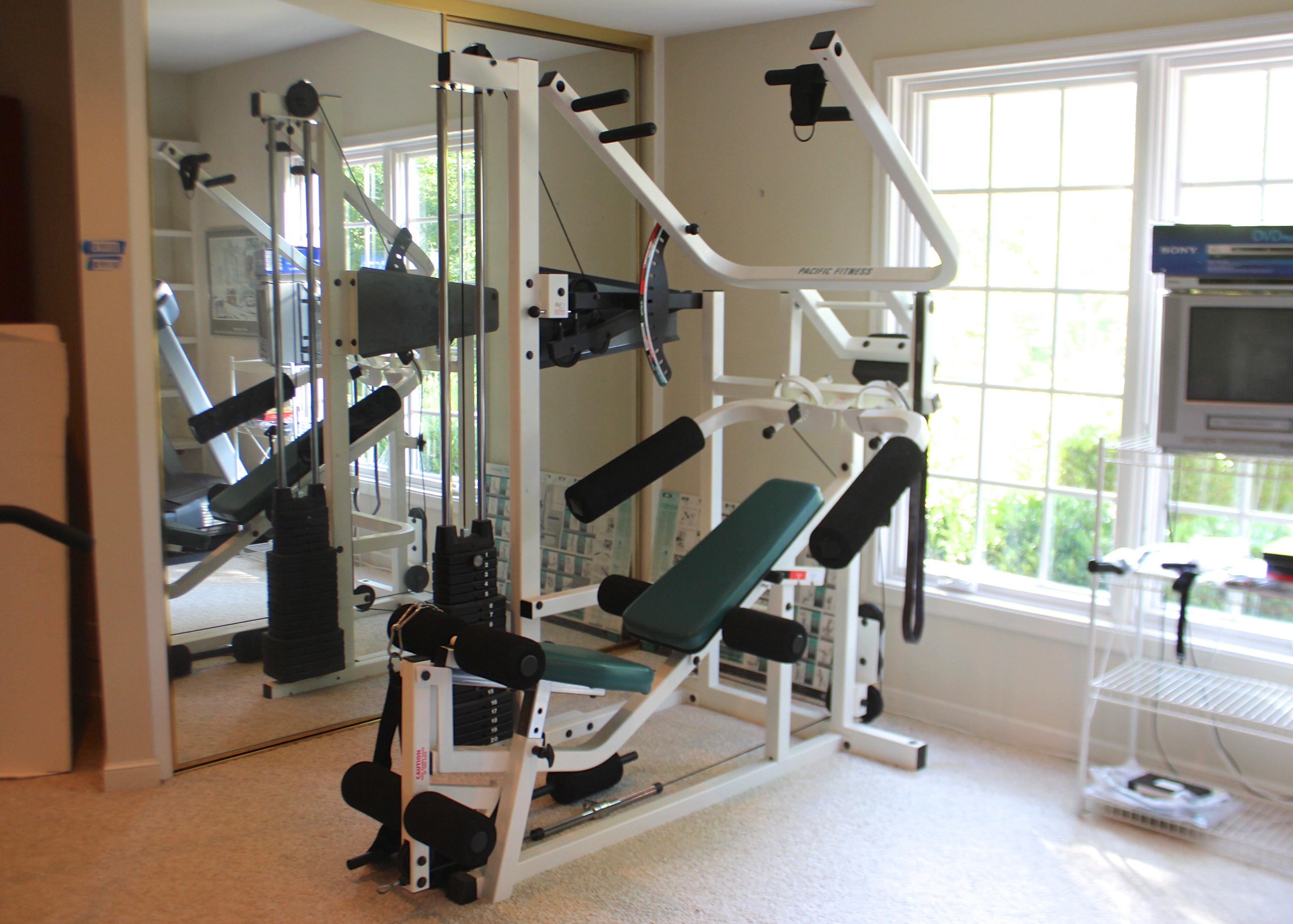 Pacific fitness del mar home gym ebth