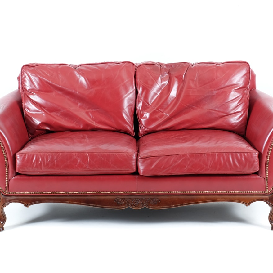 Terrific Wesley Hall Red Leather Sofa Uwap Interior Chair Design Uwaporg