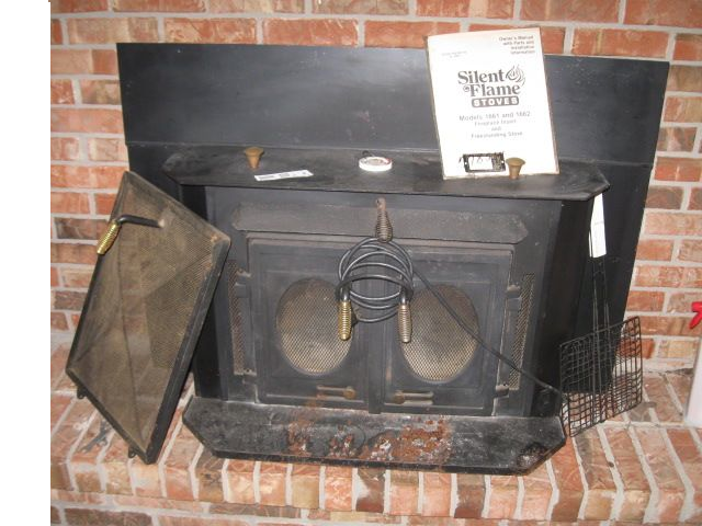 1x1 - Silent Flame Fireplace Stove : EBTH