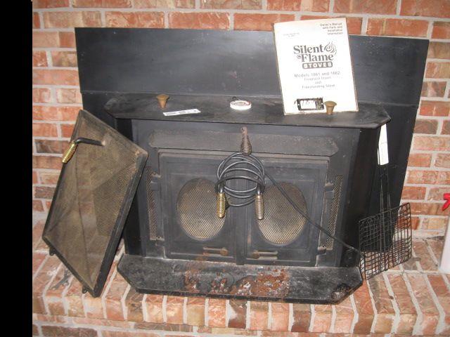 Silent Flame Fireplace Stove Ebth