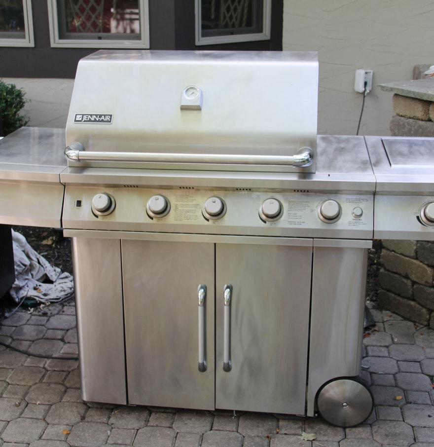 Jenn air stainless steel gas grill - Jenn Air Stainless Steel Gas Grill