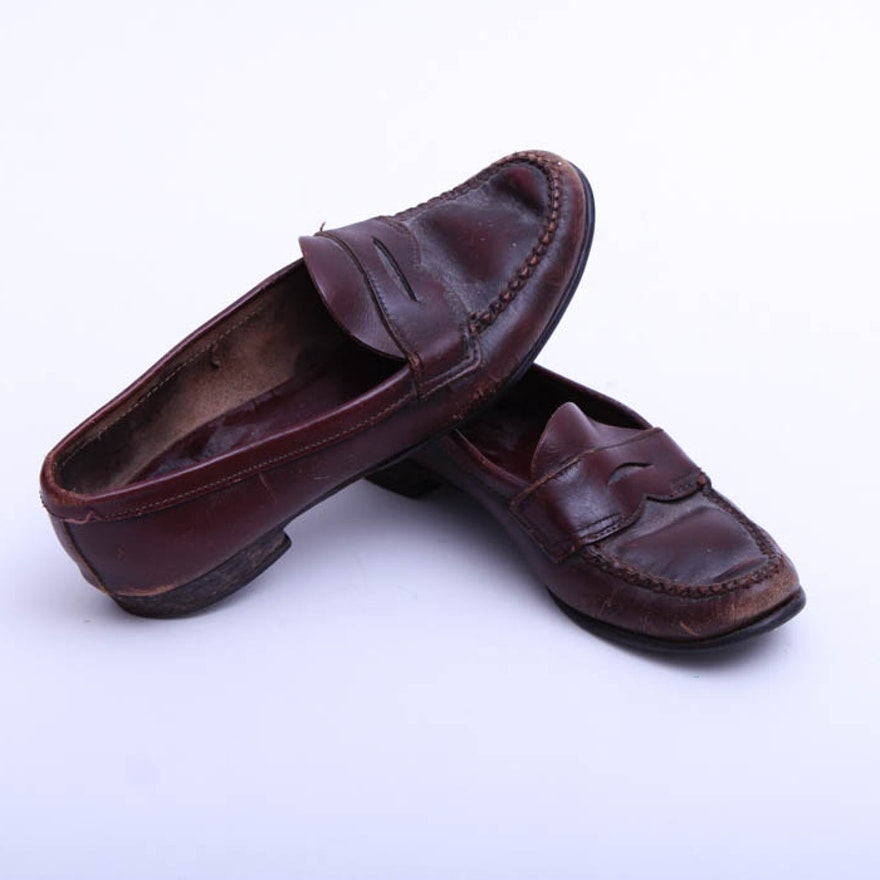 9215098a503 Women s Vintage Brooks Brothers Penny Loafers   EBTH