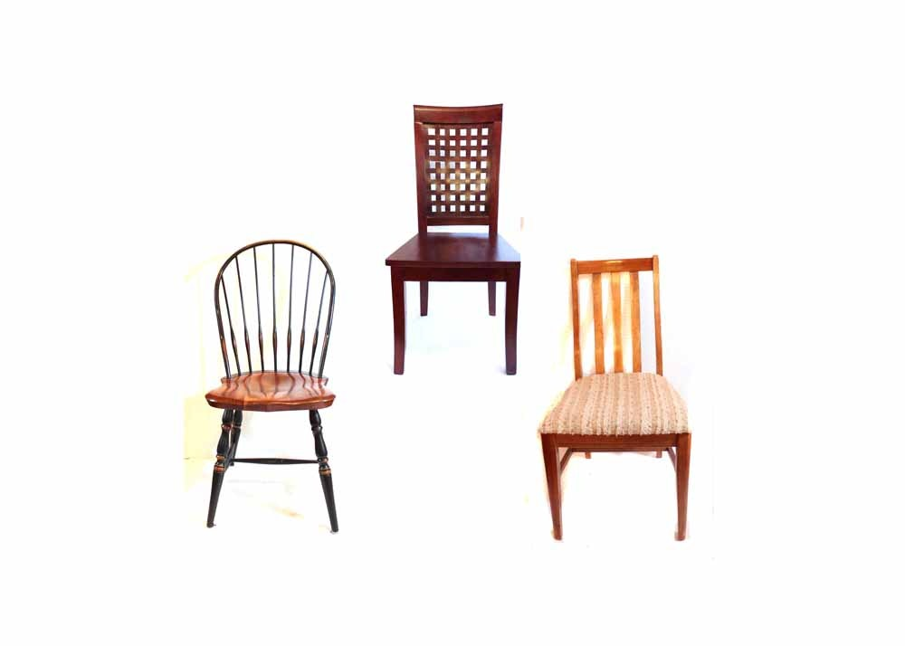 Trio Of Eclectic Chairs