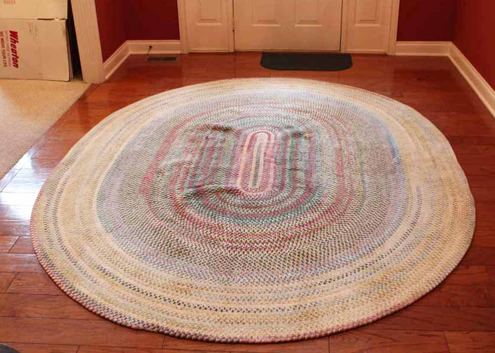 """Capel Oval """"Rugs for Life"""" Braided Area Rug EBTH"""