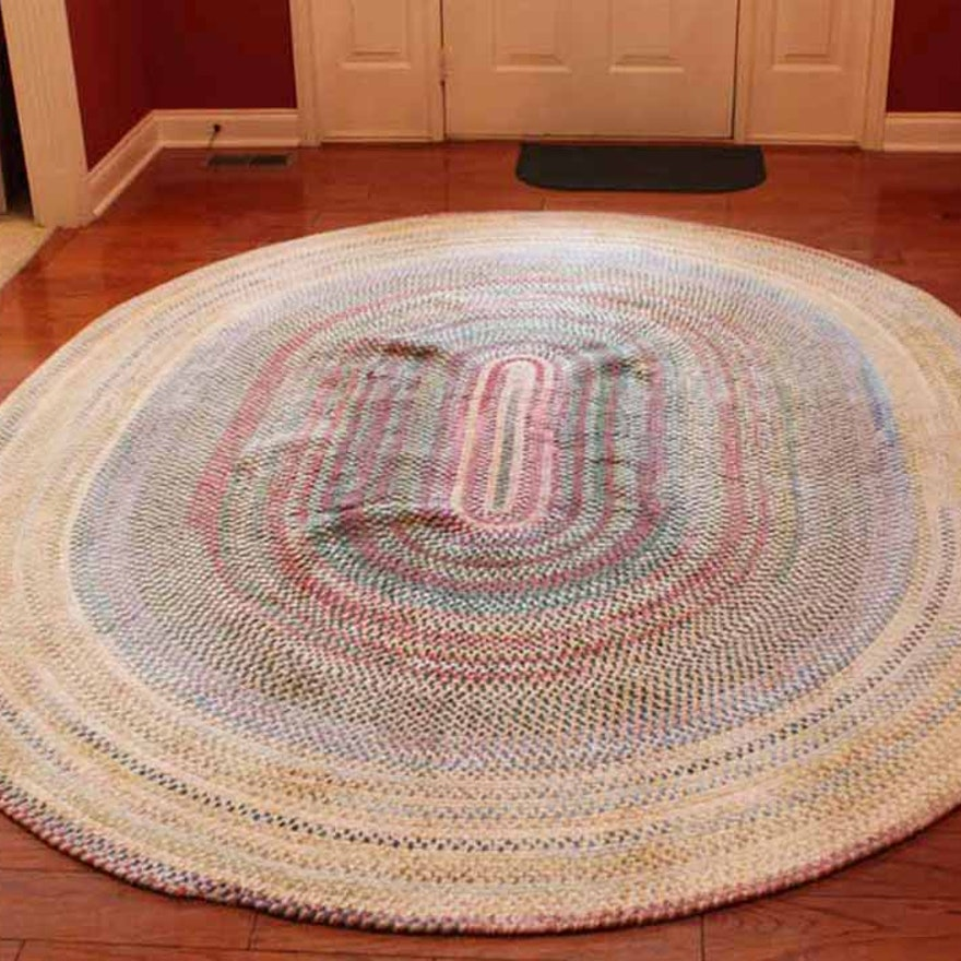 Capel Oval Rugs For Life Braided