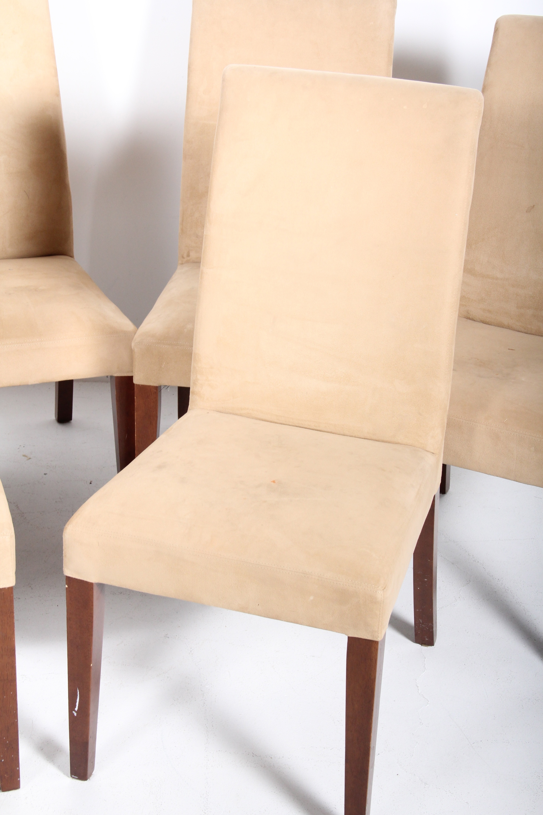 Pottery Barn Microfiber Parsonu0026#39;s Chairs : EBTH