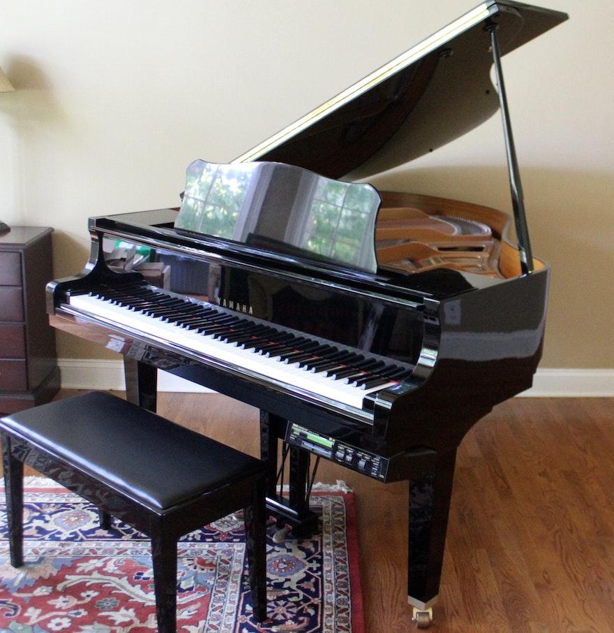 Yamaha disklavier grand piano ebth for Yamaha disklavier grand piano
