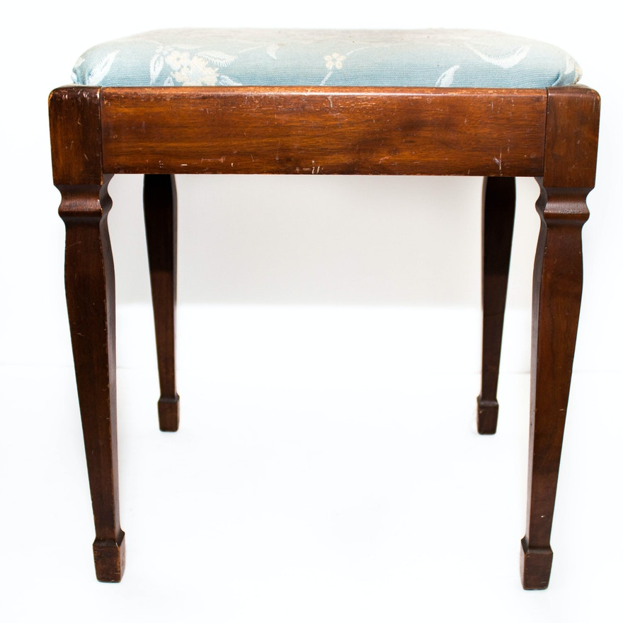 Antique Vanity Stool ... - Antique Vanity Stool : EBTH