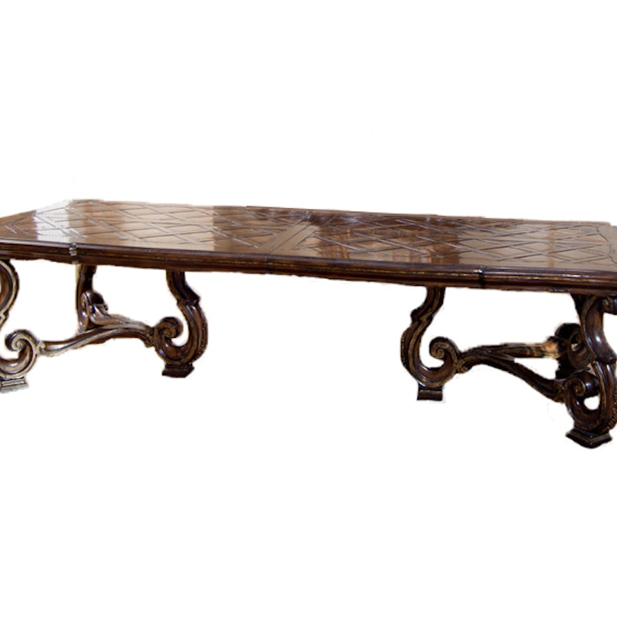 Marge Carson Vouvray Extension Dining Table Ebth