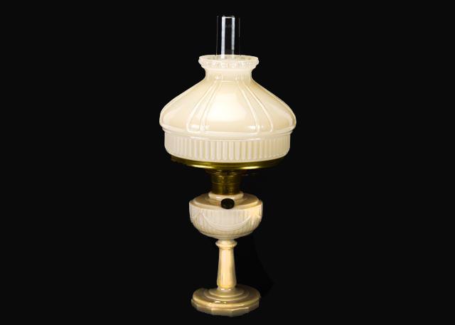 Alacite Lincoln Drape Electric Oil Lamp by Aladdin : EBTH