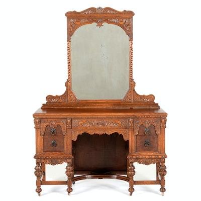 Jake Tennenbaum Vanity with Mirror - Online Furniture Auctions Vintage Furniture Auction Antique
