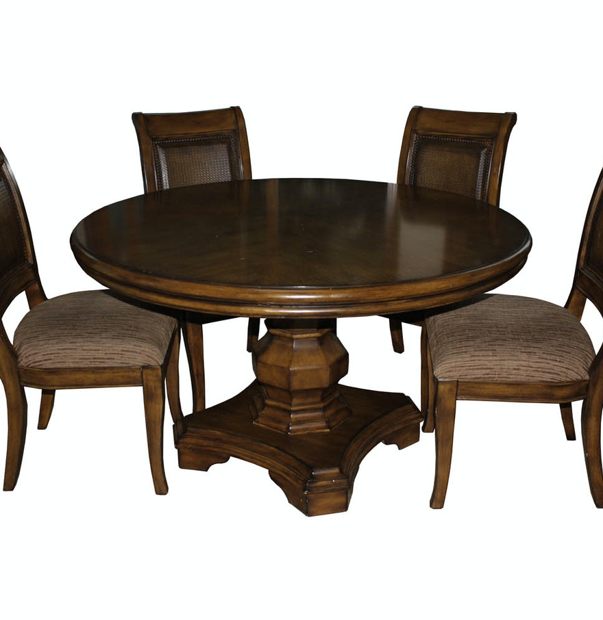 Ashley Furniture 39 Maressa 39 Dining Table And Chairs Ebth