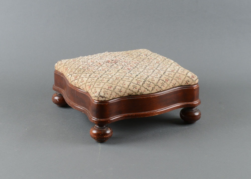 Carl Forslund Victorian Style Footstool ...