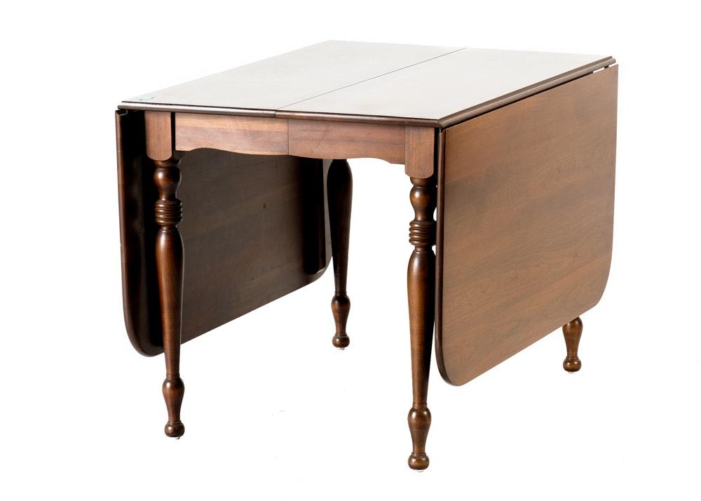 Ethan Allen Drop Leaf Extendable Dining Table ...