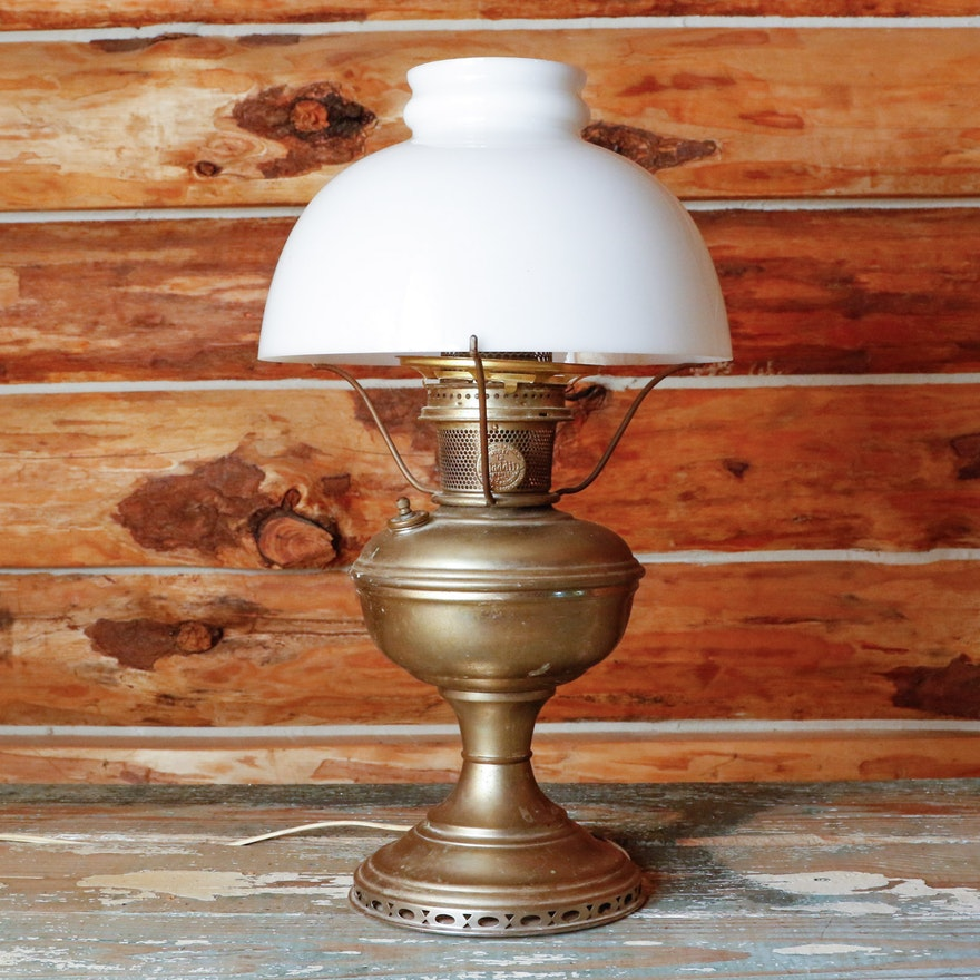 Mantle lamp co aladdin model no 12 converted oil lamp ebth mantle lamp co aladdin model no 12 converted oil lamp aloadofball Image collections