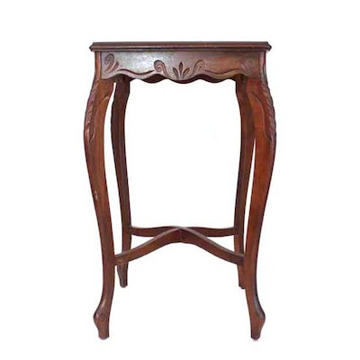 1920s French Walnut Lamp Table - Online Furniture Auctions Vintage Furniture Auction Antique
