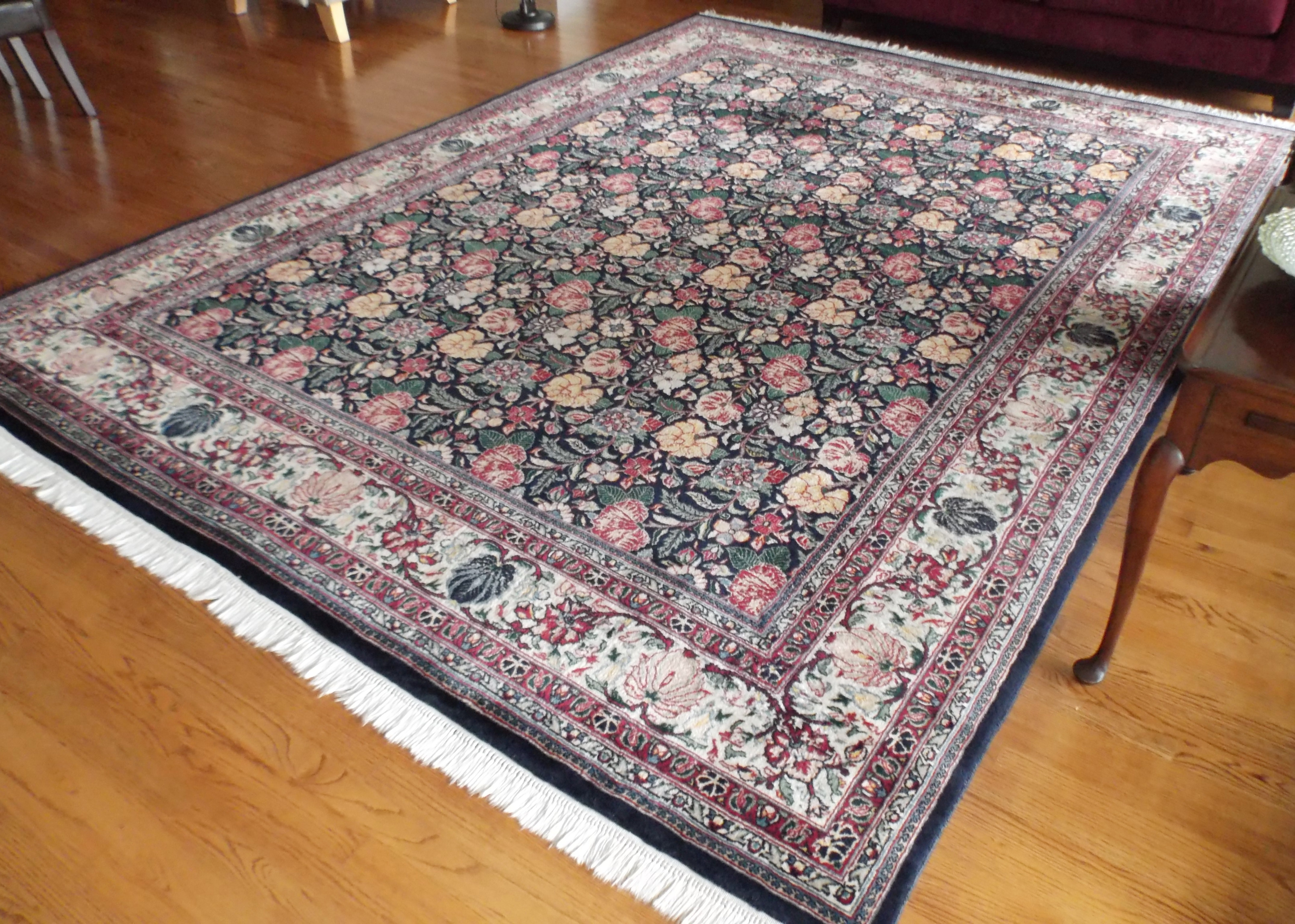 9X12 Hand Knotted Persian Design Bakhtiari Rug