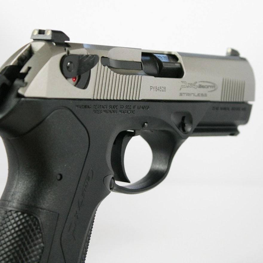 Beretta Px4 Storm 40 S W Compact Semiautomatic Pistol: Beretta PX4 Storm Full Size .40 Caliber Pistol